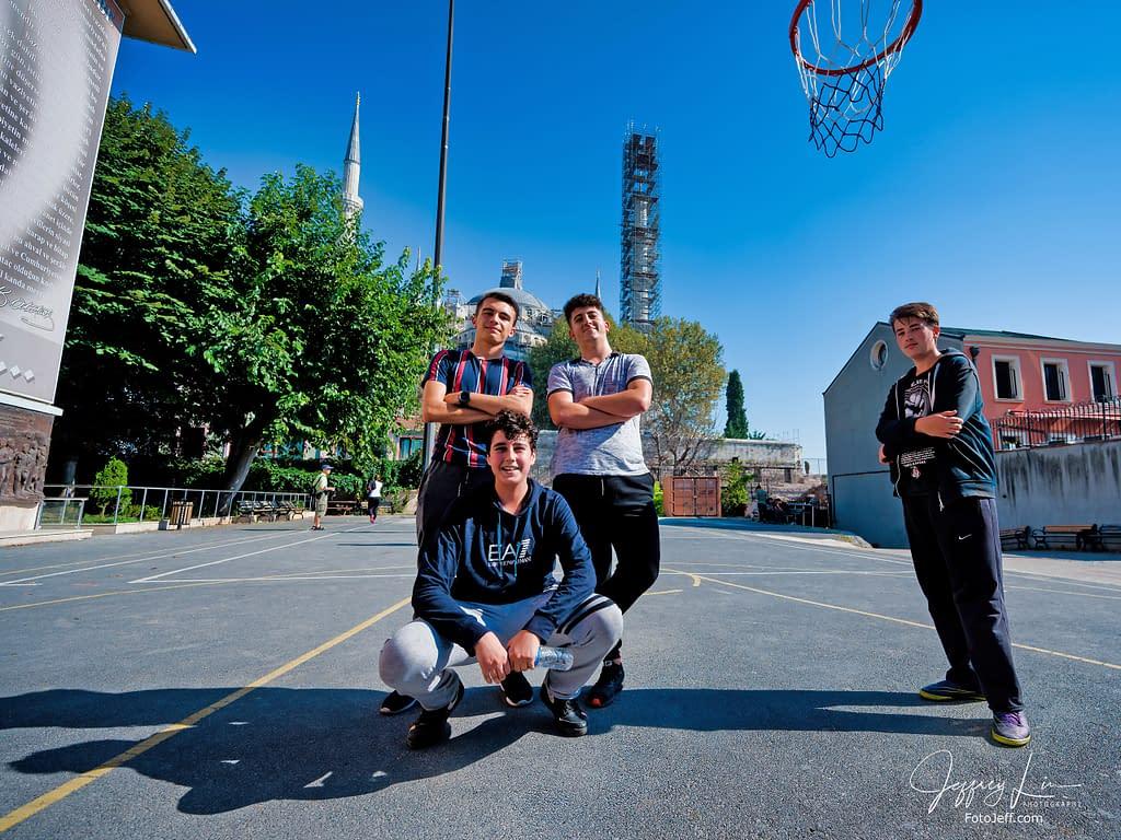 98. Students of Sultanahmet Suphi Paşa Mesleki ve Teknik Anadolu Lisesi