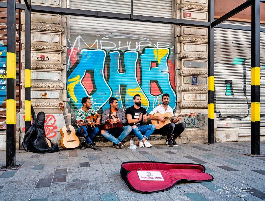 29. Street Performers in Istiklal Caddesi