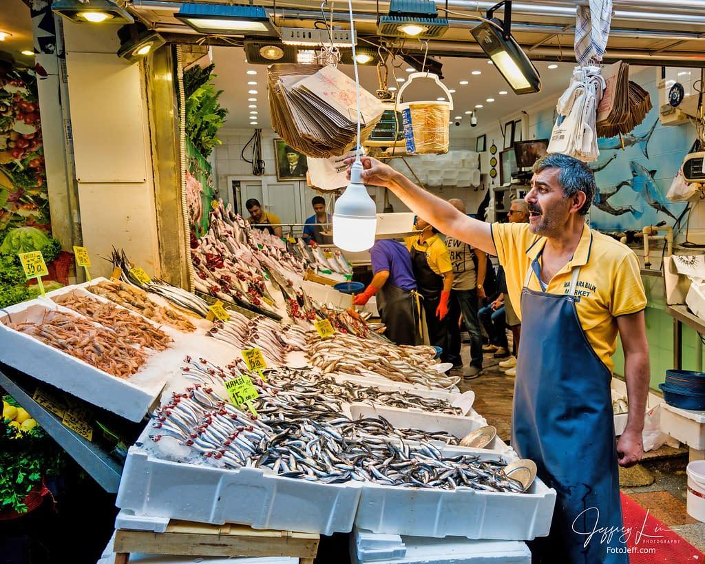 17. Fresh Fish in Kadıköy Fish Market