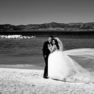 9. An Opportunity to Shoot a Wedding Couple at Ephesus Beach