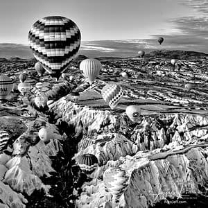 15. 6:50 am - Incredibly Scenic from Hot Air Balloon Cappadocia