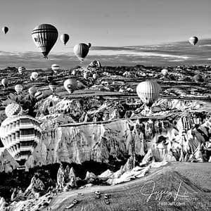 16. 6:53 am - Incredibly Scenic from Hot Air Balloon Cappadocia