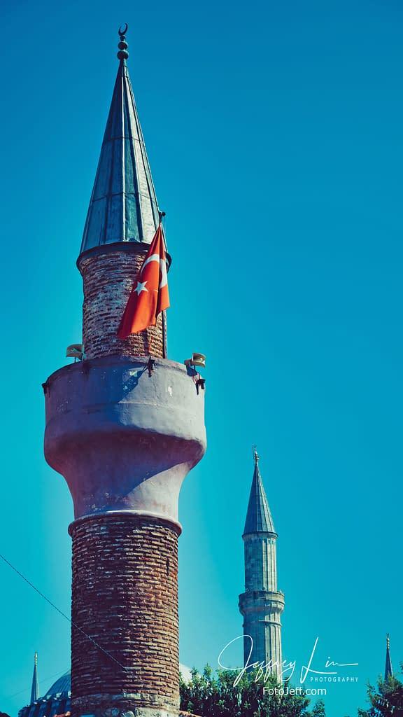 72. Hagia Sophia Minarets
