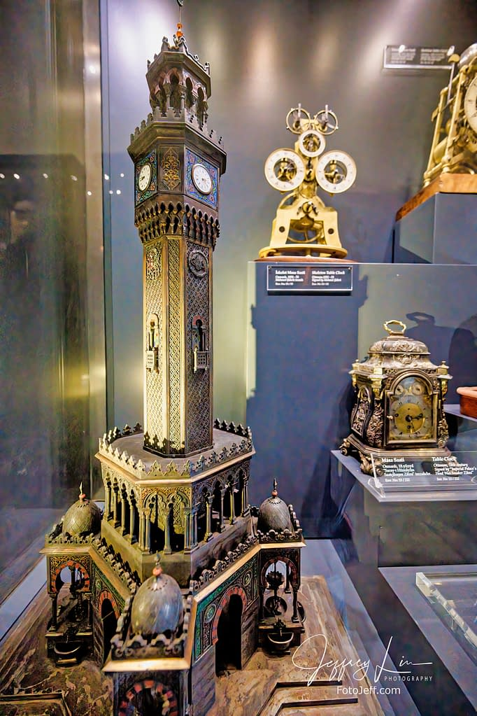 114. Ottoman Clock and Watch Collection at Topkapi Clock Museum