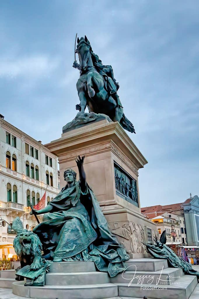 49. The Statue of Vittorio Emanuele II (Monumento a Vittorio Emanuele II) 1887