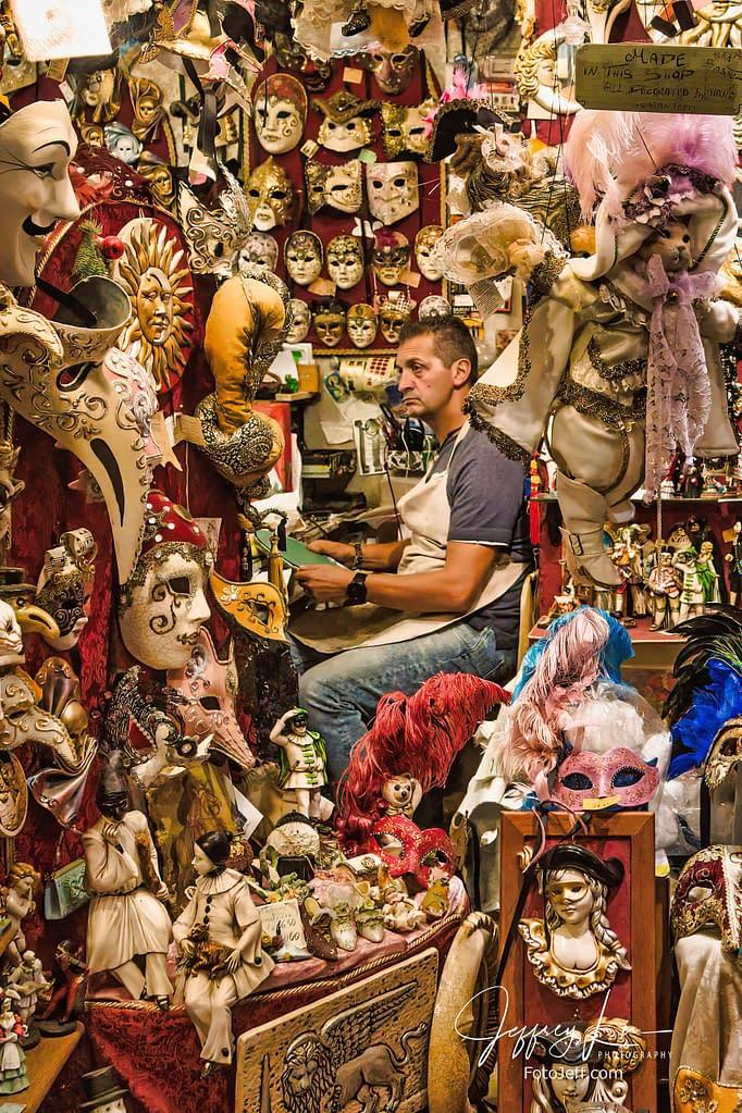 69. The Artisan Mask Maker of Venice